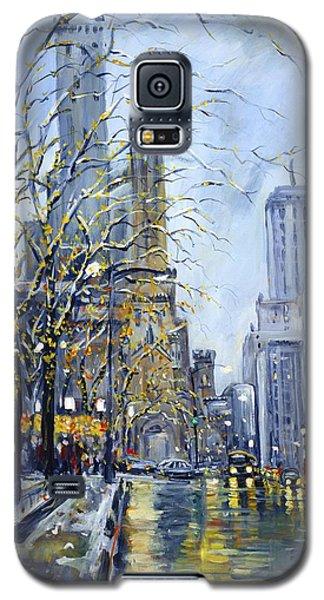 North Michigan Avenue Galaxy S5 Case