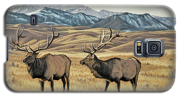 Bull Galaxy S5 Case - North Of Yellowstone by Paul Krapf