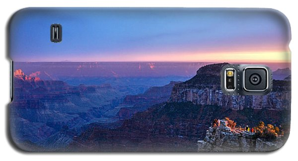 North Rim Sunset Galaxy S5 Case by Cheryl McClure