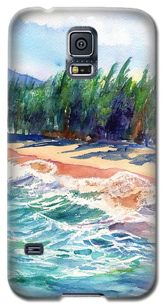 North Shore Beach 2 Galaxy S5 Case by Marionette Taboniar