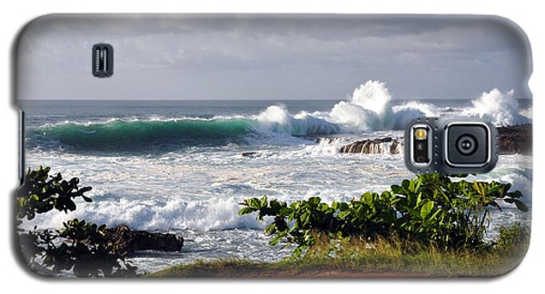 North Shore Oahu Galaxy S5 Case by Gina Savage