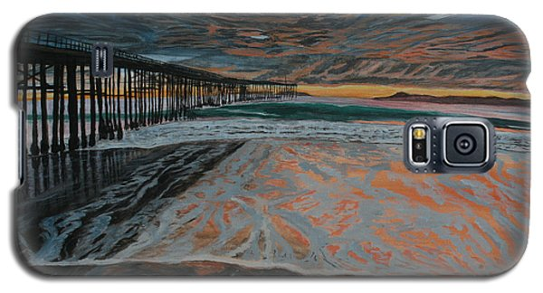North Side Of The Ventura Pier Galaxy S5 Case by Ian Donley