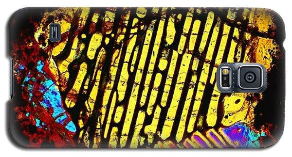Neon Fingerprint Galaxy S5 Case