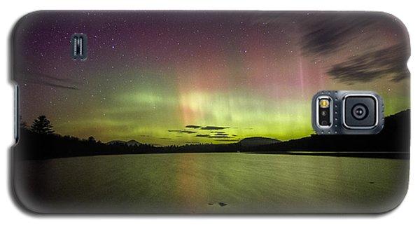 Northern Lights Over Ricker Pond Galaxy S5 Case