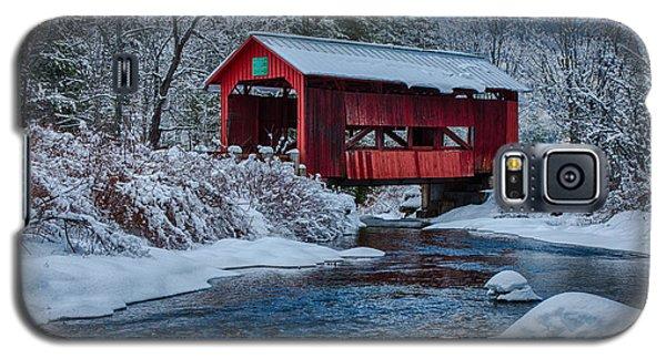 Northfield Vermont Covered Bridge Galaxy S5 Case