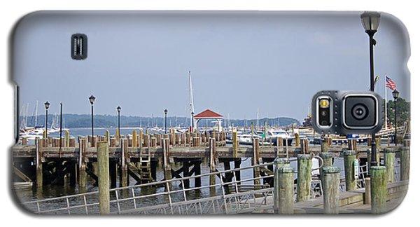 Northport Dock Long Island New York Galaxy S5 Case