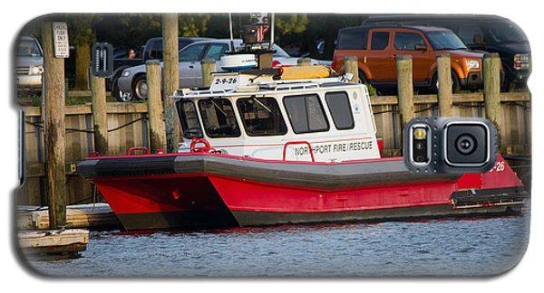 Northport Fire Boat Long Island New York Galaxy S5 Case