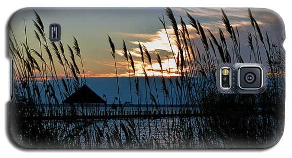Galaxy S5 Case featuring the photograph Ocean City Sunset At Northside Park by Bill Swartwout