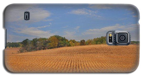 Northwest Iowa Golden Corn Field Galaxy S5 Case