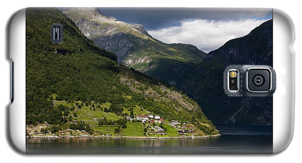 Norway Geiranger Geirangerfjord Fjord Galaxy S5 Case