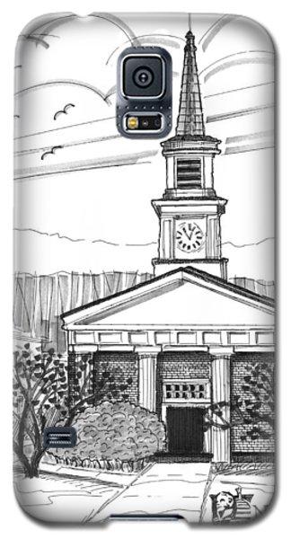 Norwich University White Chapel Galaxy S5 Case