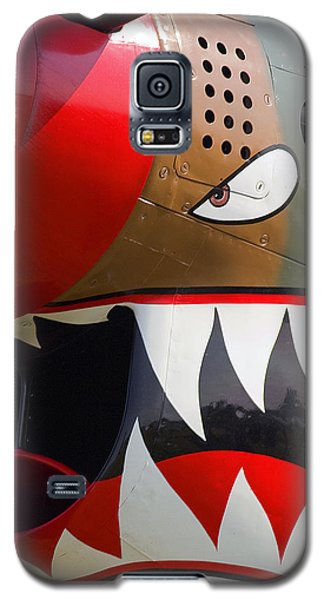 Galaxy S5 Case featuring the photograph Nose Art I by Timothy McIntyre