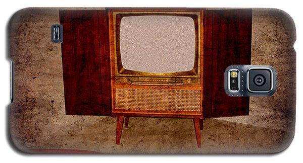 Nostalgia - Old Tv Set Galaxy S5 Case
