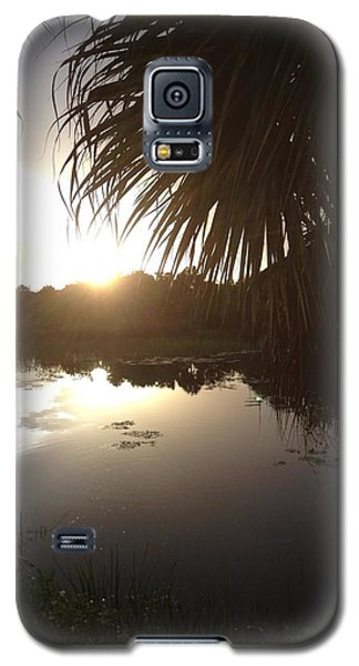 Not Quite Black And White - Sunset Galaxy S5 Case