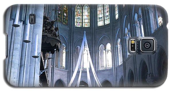 Notre Dame Altar Teal Paris France Galaxy S5 Case