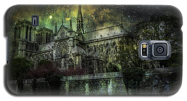 Notre Dame At Night Galaxy S5 Case