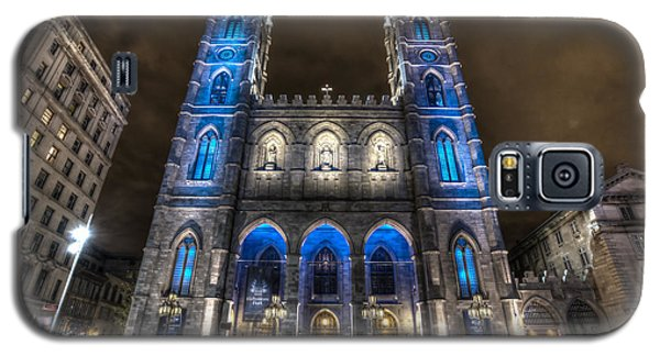 Notre Dame Basilica In Montreal Galaxy S5 Case by Shawn Everhart