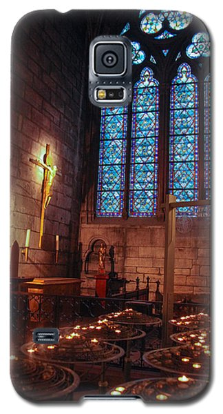 Notre Dame Candles Galaxy S5 Case by Ross Henton