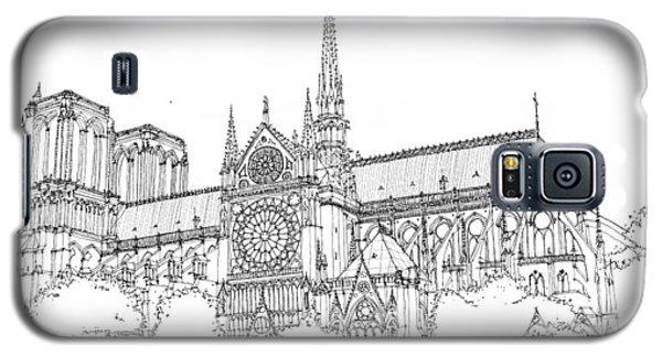 Notre Dame De Paris Galaxy S5 Case