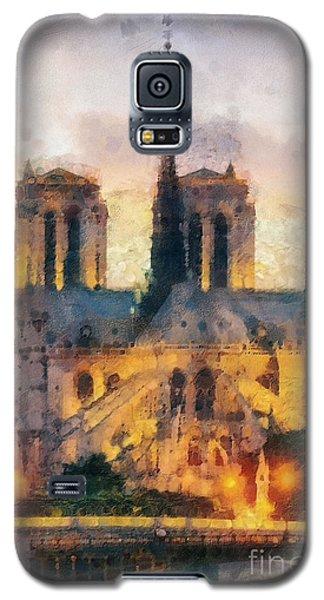 Notre Dame De Paris Galaxy S5 Case by Mo T