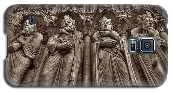 Notre Dame Facade Detail Galaxy S5 Case