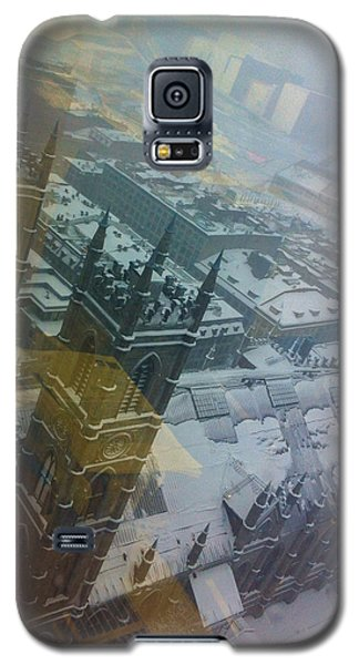 Notre Dame On The Vertical Galaxy S5 Case by Valerie Rosen