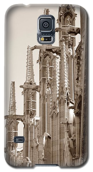 Notre Dame Sentries Sepia Galaxy S5 Case