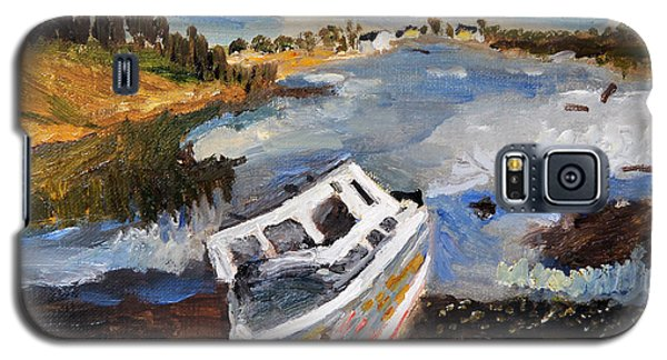 Nova Scotia Fishing Boat Galaxy S5 Case