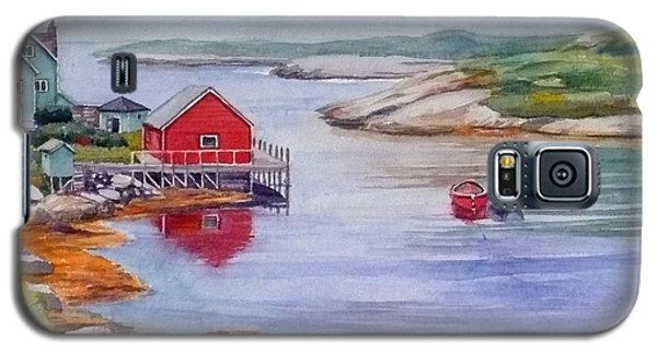 Nova Scotia Harbor Galaxy S5 Case