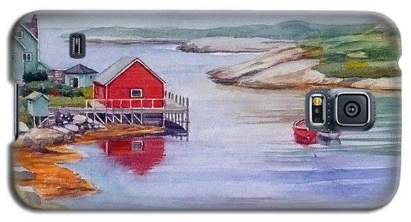 Nova Scotia Harbor Galaxy S5 Case