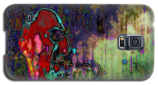 Galaxy S5 Case featuring the digital art November Coming by Mojo Mendiola