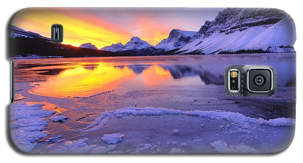 Galaxy S5 Case featuring the photograph November Freeze 2 by Dan Jurak