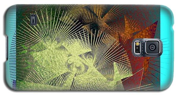 Galaxy S5 Case featuring the digital art November by Iris Gelbart