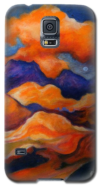 Galaxy S5 Case featuring the painting November Landscape by Alison Caltrider