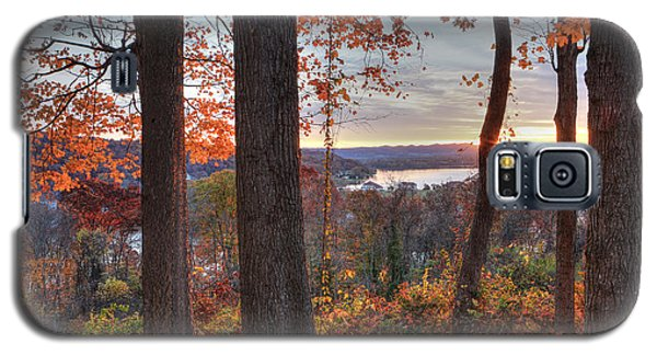 November Morning At The Lake Galaxy S5 Case by Jaki Miller