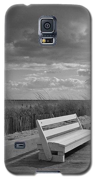 November On The Boardwalk Galaxy S5 Case by Arlene Carmel