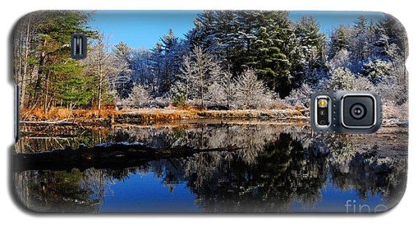 November Snow Galaxy S5 Case by Mim White