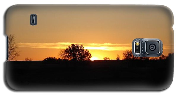 November Sunset  Galaxy S5 Case by J L Zarek