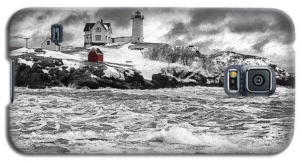 Nubble Lighthouse After The Storm Galaxy S5 Case