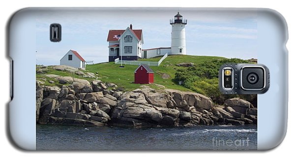 Nubble Lighthouse In Maine Galaxy S5 Case