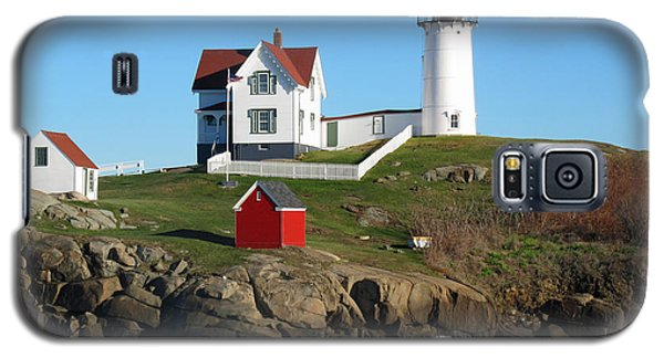 Nubble Lighthouse One Galaxy S5 Case