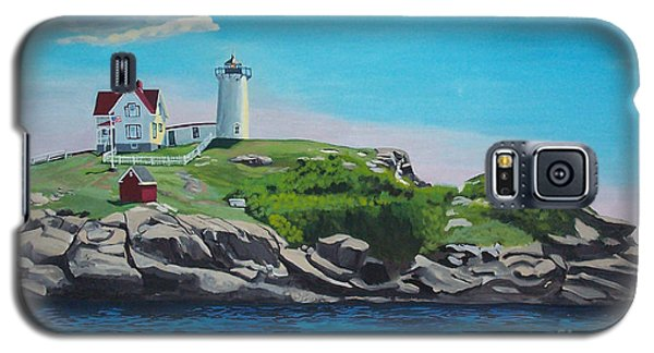 Nubble Lighthouse Sunrise Galaxy S5 Case