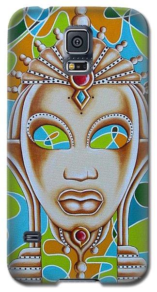 Nubian Modern Ivory Mask  Galaxy S5 Case by Joseph Sonday