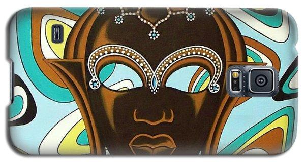 Nubian Modern  Mask Galaxy S5 Case by Joseph Sonday