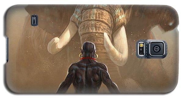 Nubian Warriors Galaxy S5 Case
