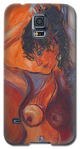 Nude Dressing Galaxy S5 Case by Avonelle Kelsey
