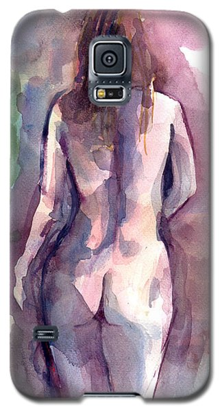 Galaxy S5 Case featuring the painting Nude by Faruk Koksal