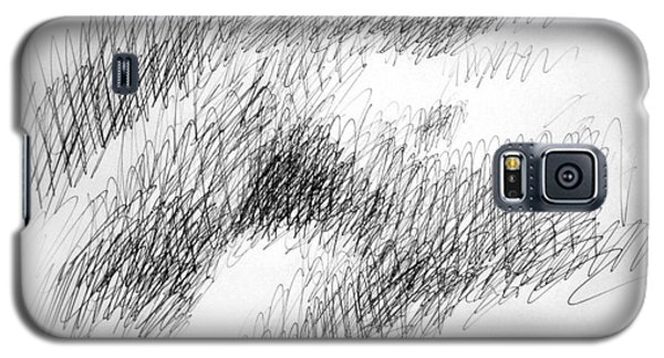 Nude Female Abstract Drawings 1 Galaxy S5 Case