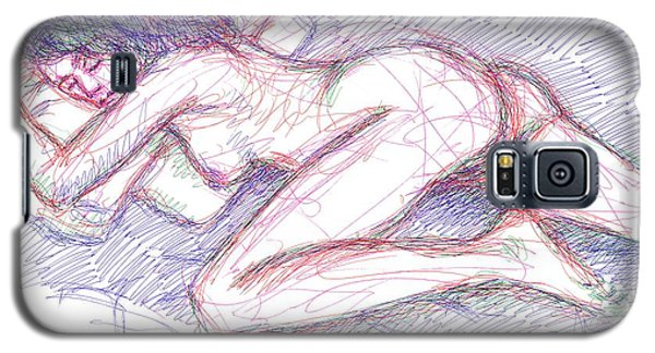 Nude Female Sketches 5 Galaxy S5 Case