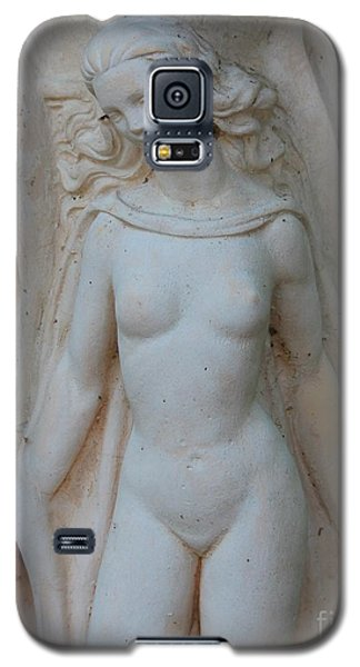 Galaxy S5 Case featuring the photograph Nude Lady Statue by Cynthia Snyder